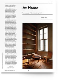 Frieze magazine by Atelier Dyakova, via Behance Frieze Magazine, Soho Loft, Publication Design, Magazine Editorial, Layout Design, Set Design, Editorial Design, Art Direction, Restoration