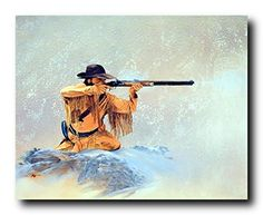 Mountain Man the Hunter Rifle Western Wall Decor Art Prin... https://www.amazon.com/dp/B008PBQ4OW/ref=cm_sw_r_pi_dp_x_Krl6xbR46AHX9