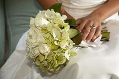 Bridal bouquet by Violet Gardens, Savannah, GA
