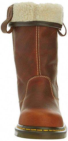 13cd4308dc25c Women's Shoes Chunky Heel Fur Lined Boots – luckinbag