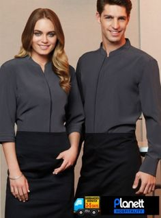 Polyester, Cotton Twill Below knee, Bistro length Unique styling No front pocket Longer length waist ties Free size x 190 GSM Available in Black only Corporate Uniforms, Staff Uniforms, Corporate Wear, Work Uniforms, School Uniforms, Cafe Uniform, Waiter Uniform, Hotel Uniform, Waitress Outfit