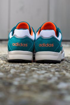 adidas Originals Tech Super | Grey, Orange & Teal