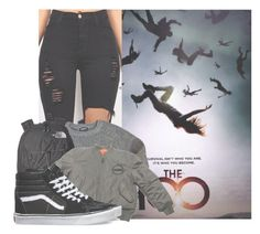 """""""T H E 1 0 0"""" by w-on-der-lan-d ❤ liked on Polyvore featuring American Apparel, The North Face, Vans, cw, tvshow and the100"""