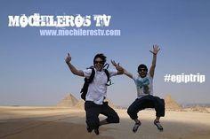 Mochileros TV comienza su aventura por Egipto para descubrir los tesoros de esta país de forma low cost.