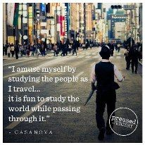 Even #Casanova had some great #travel #advice!