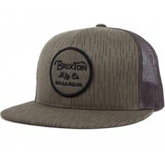18f028a75e Brixton Wheeler III Adjustable Hat in stock now at SPoT Skate Shop