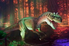Image detail for -bipedal predator dinosaur with many sharp teeth, large head and long ...