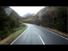 cool Homer tunnel to milford sound,New Zealand