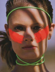 The Beauty Model: Summer Look: Constance Jablonski by Hans Feurer for Vogue Japan www.tomsshoeseoutlet.com
