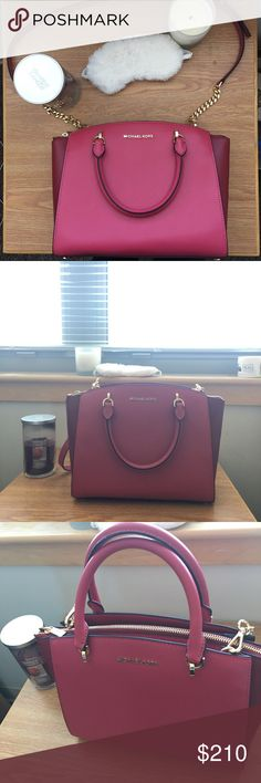 NWOT Structured MK Bag - Retail $485 NWOT! Offers accepted  Won't go under $115, it is BRAND NEW. Michael Kors Bags
