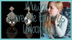 Muwae 'Dare me Earrings' Unboxing   Rachybop