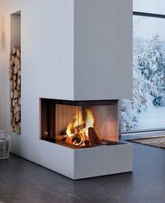 Home Fireplace, Fireplace Design, Fireplaces, Modern Lodge, Room Color Schemes, Fireplace Inserts, Home Interior Design, Future House, Home Remodeling