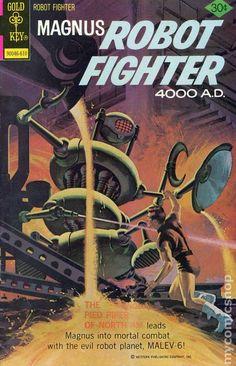 Magnus Robot Fighter (1963 Gold Key) 45