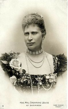 Queen Louise of Denmark, consort of Frederick VIII of Demark, daughter of Charles XV of Sweden,