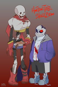 I drew some Horrortale too! Undertale Game, Undertale Cosplay, Frans Undertale, Undertale Comic Funny, Undertale Fanart, Undertale Drawings, Undertale Pictures, Horror Sans, Toby Fox