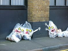 Mick Hartley: Waste bags. So simple, yet so expressive !