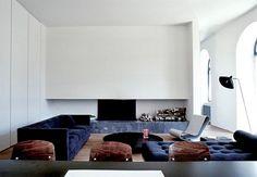 Minimalismus francouzského dekoratéra Josepha Diranda.