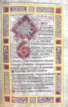 Irish Psalter, 10th-11th century