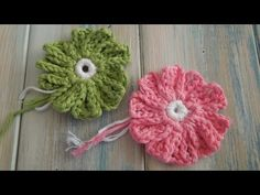 ▶ (crochet) How To Crochet a 10 Petal Flower (no magic circle) - Yarn Scrap Friday - YouTube