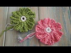 ▶ (crochet) How To Crochet a 10 Petal Flower (no magic circle) - Yarn Scrap Friday - YouTube