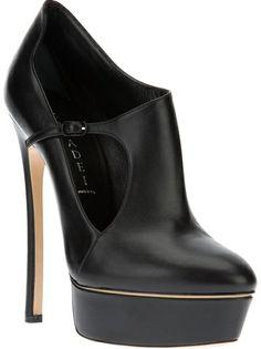 CASADEI Ankle Boot Preta.
