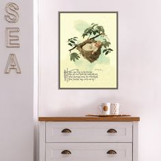 Decorating the nursery for your bundle of joy is a real pleasure, and like most parents, you will probably put more effort into getting that room just...   Rock a Bye Baby Vintage Nursery Rhyme Print #NurseryWallDecor #NurseryDecor #WallDecor #NurseryWalls Nursery Wall Decor, Nursery Rhymes, Rock A Bye Baby, Vintage Nursery, Tree Tops, Effort, Parents, Gallery Wall, Joy
