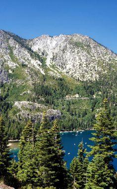 Emerald Bay. Lake Tahoe, California.