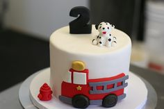 Fire Truck Birthday Cake | Flickr - Photo Sharing!