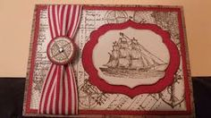 pimages of hand made cards with nautical theme - Google Search