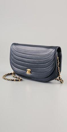 Vintage Chanel Moon Bag
