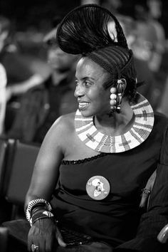Miriam Makeba (1932-2008) South African-born singer who became known as Mama Afrika, one of the world's most prominent black African performers in the 20th century.