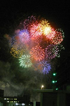 Japanese fireworks: photo by Spiegel, via Flickr