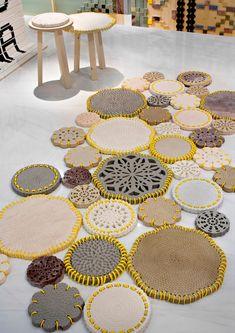 arquiempresas: Marmoleria Budri diseño con restos de mármol diseñadora Patricia Urquiola