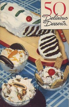 50 Delicious Desserts, 1938