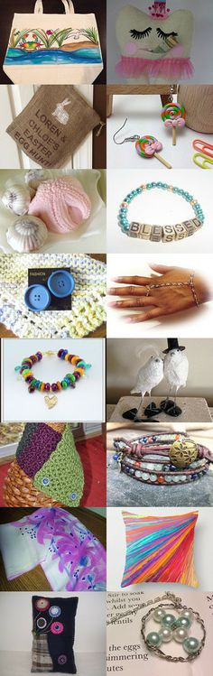 A rainbow of choices... by Sara Goforth on Etsy--Pinned with TreasuryPin.com