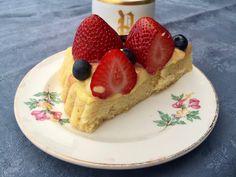 German Strawberry cake
