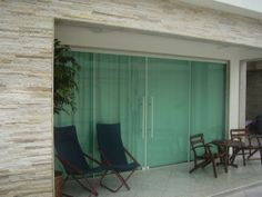 Tempered Glass Door, Oversized Mirror, My House, Sweet Home, New Homes, Patio, Furniture, Home Decor, Casa Clean