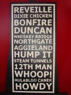 Subway sign - Texas A&M