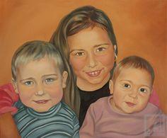 Oil Portraits | Oil Paintings | Custom Oil Portraits by Dailininkas