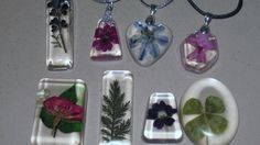 DIY jewelry from nature.