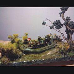 Great Diorama!! By:Craig Thomas From: scalemodelworkbench  #scalemodel #plastimodelismo #miniatura #miniature #miniatur #hobby #diorama #humvee #scalemodelkit #plastickits #usinadoskits #udk #maqueta #maquette #modelismo #modelism