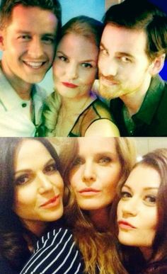 #OUAT cast - Josh, Jennifer, Colin, Lana, Rebecca and Emilie