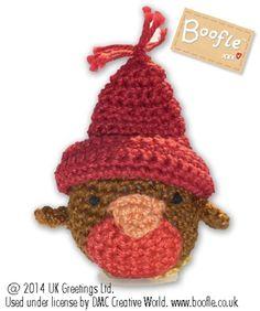 DMC Free Crochet Patterns - Rosy Robin