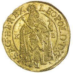 Leopold I. 1657 - 1705 Dukat 1689 KB Gold