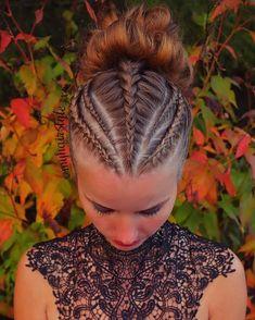 Dance Hairstyles, Easy Hairstyles For Long Hair, Braids For Long Hair, Braided Hairstyles, Hair Color Pictures, Natural Hair Styles, Short Hair Styles, Viking Hair, Hair Styler