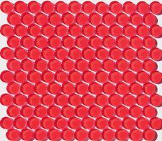Mosaic Tile Supplies for glass tile design, hex, penny & subway tile. Mosaic Tile Supplies, Mosaic Tile Designs, Glass Mosaic Tiles, Penny Round Tiles, Penny Tile, Kitchen Tiles Design, House Tiles, Room Themes, Subway Tile
