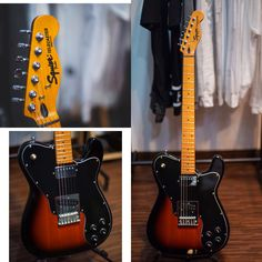 Squier telecaster sunburst finish   Body.  : Alder wood  Neck.  : Maple trussrod  Dryer.  : Fender stainless  Switch : 3way togel  Pickup : single coil korean (B) // nickel cover korean (N)