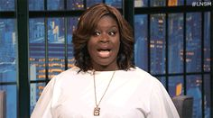 Retta on Late Night With Seth Meyers