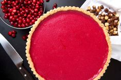 If you are a fan of lemon curd or the classic French tarte au citron, you will love this cranberry version To minimize kitchen time, make it in stages, preparing the crust and curd a day or two in advance The finished tart keeps well for a couple of days too