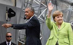 "<p>Berlín.- ""No podemos aislarnos. No podemos escondernos detrás de un muro"", dijo el ex presidente estadunidense Barack Obama al"